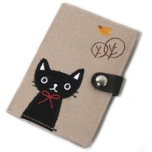 なごみ黒猫 カードホルダー